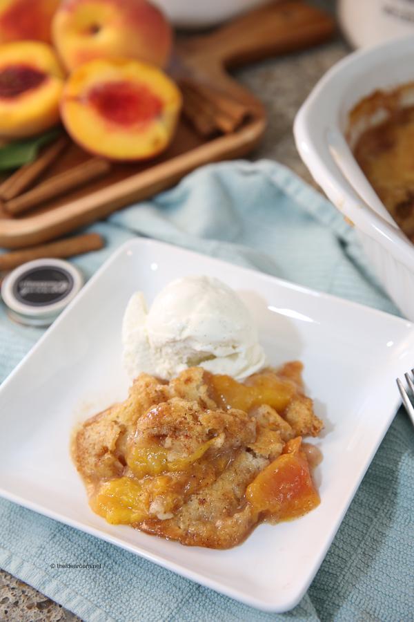 How To Make Fresh Peach Cobbler Recipe