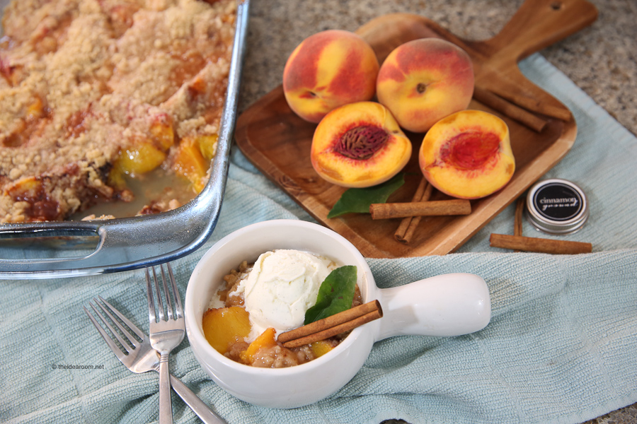 fresh peach recipes peach crisp