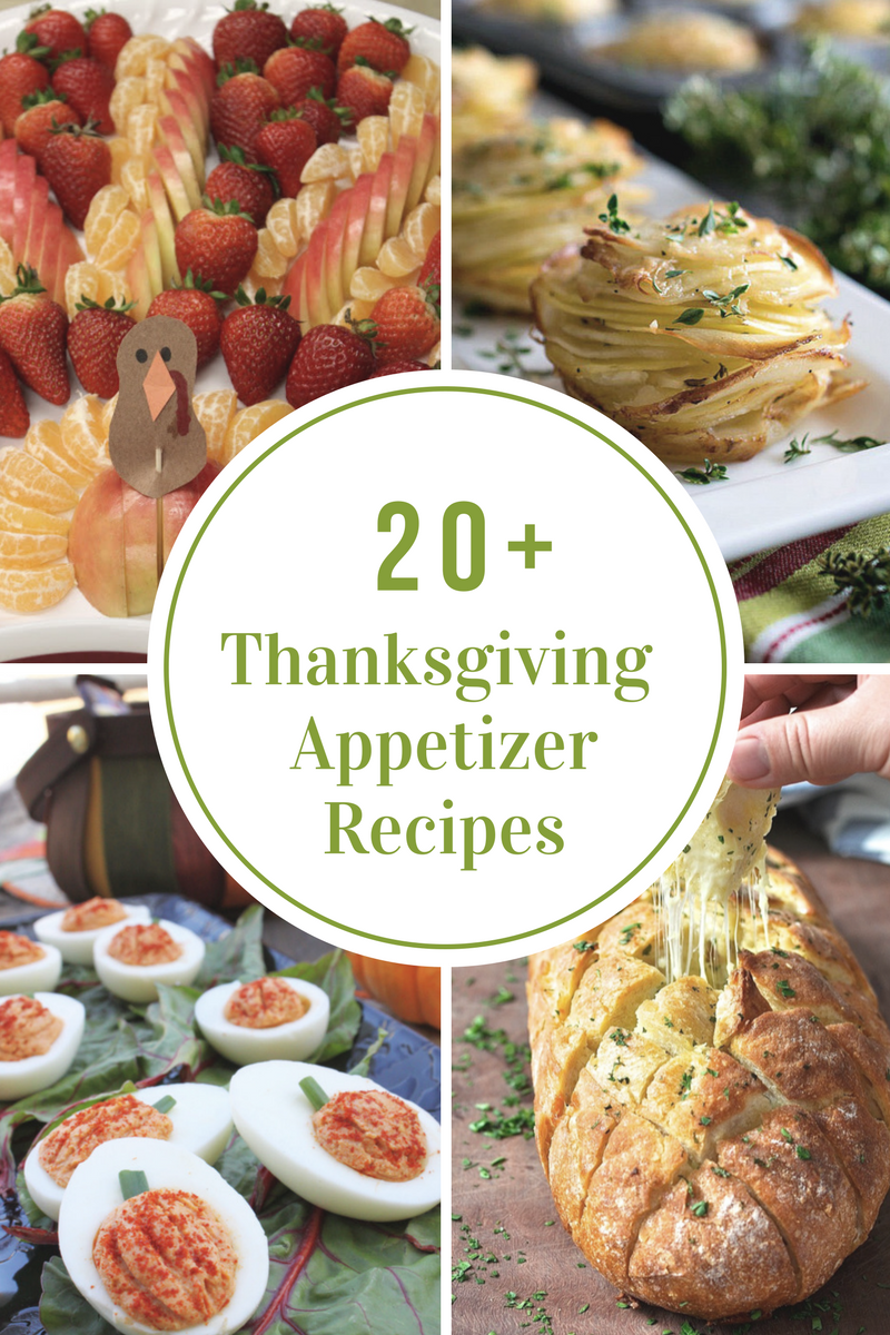 Thanksgiving Dinner Menu Recipe Ideas