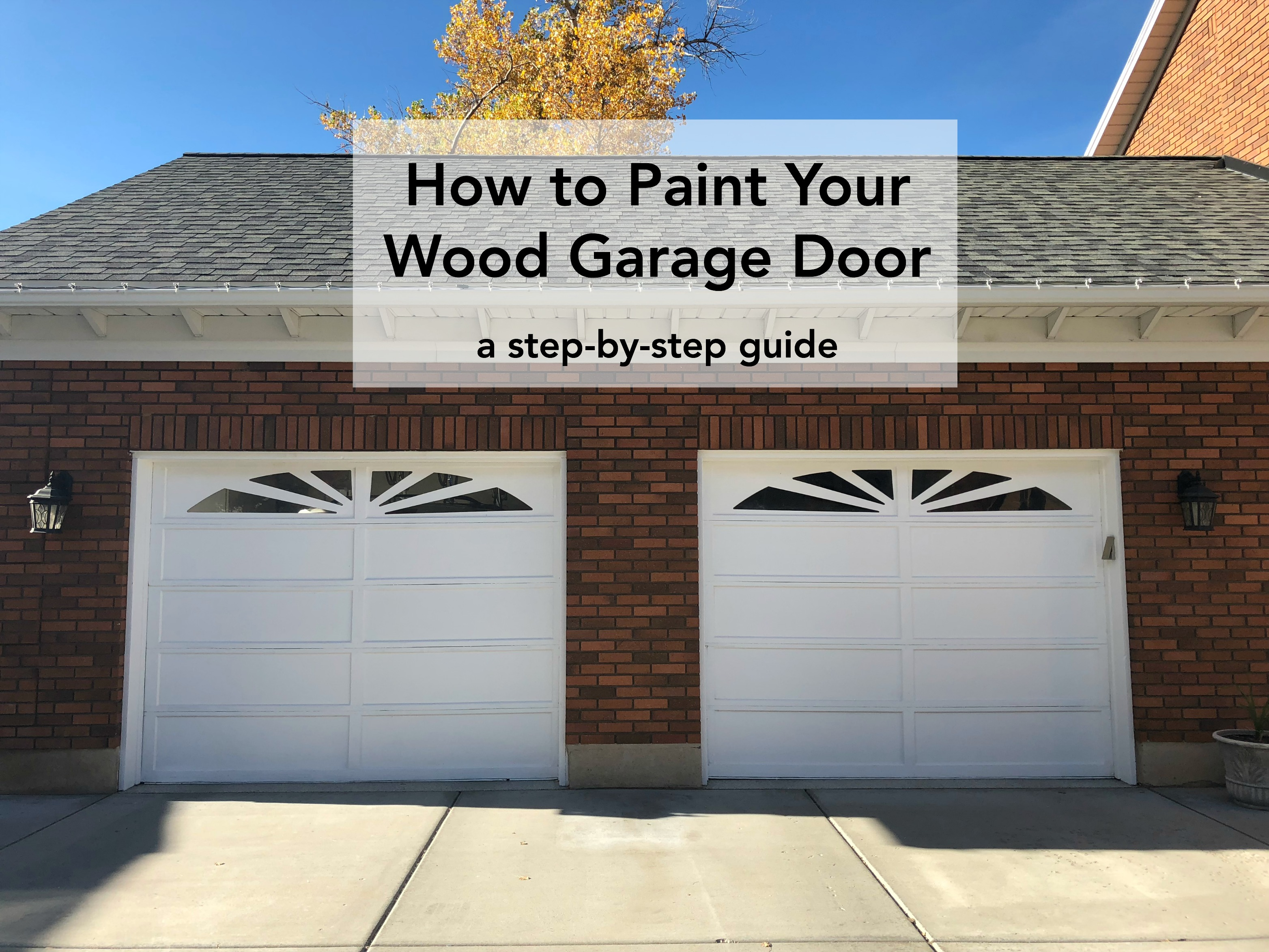 How To Paint Your Wood Garage Door With Purdy Tools