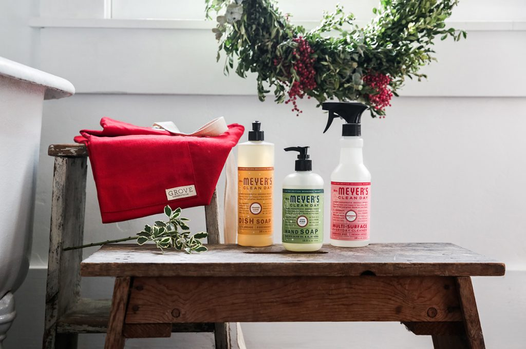 Free-Mrs-Meyers-Grove-Collaborative-Cleaning-Products-Holiday-Christmas