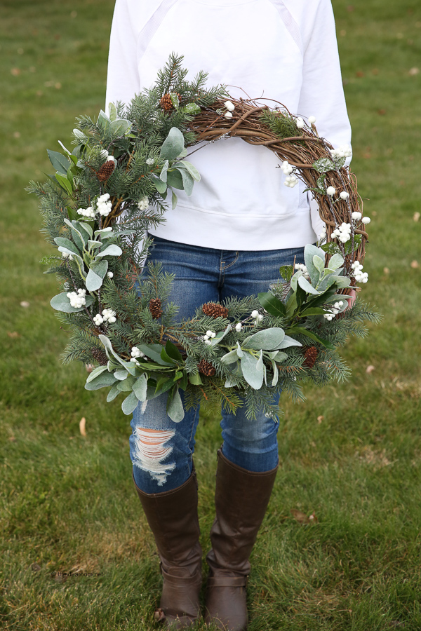 How to Make a Rustic Farmhouse Wreath Step-by-Step Tutorial