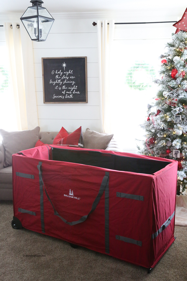 Christmas Storage Solutions With Balsam Hill The Idea Room