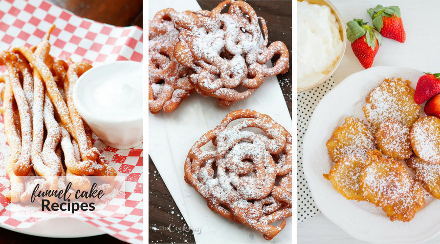 funnel cake recipes