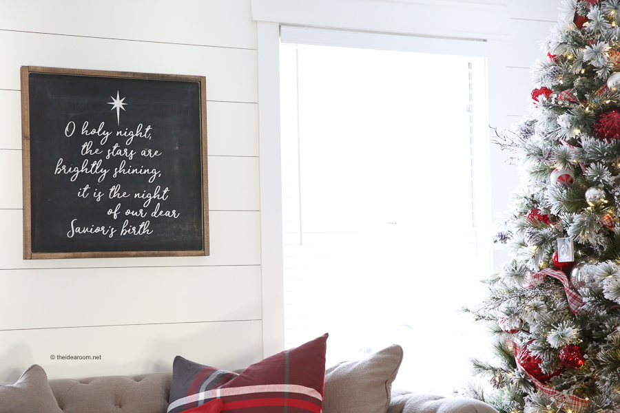 DIY-Oh-Holy-Night-Farmhouse-Christmas-Sign-Tutorial