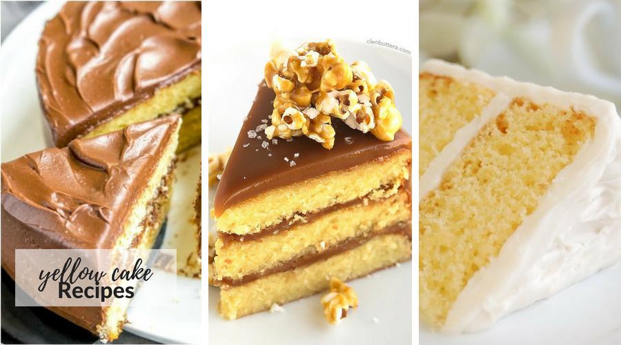 yellow cake recipes