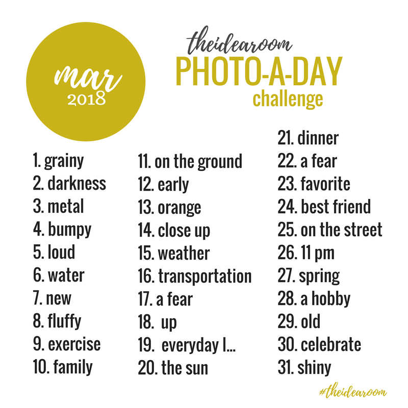 March-Photo-A-Day-Challenge-2018