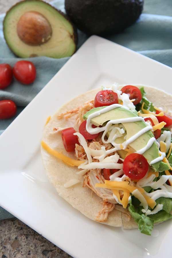 Homemade-Instant-Pot-Shredded-Chicken-Tacos-Recipe
