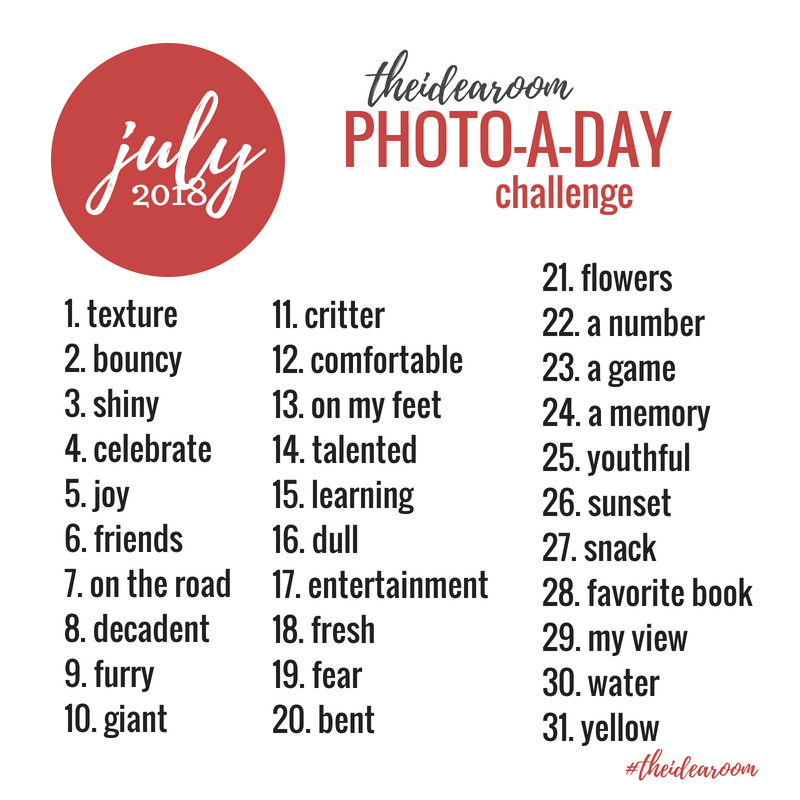 July Photo of the Day Challenge 2018