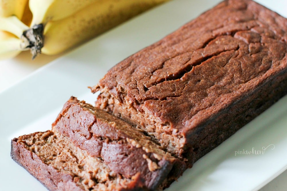 skinny chocolate banana bread recipe