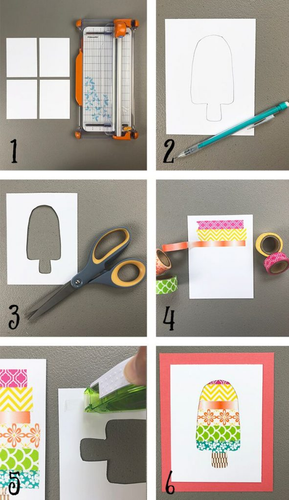 Step by Step Tutorial: HOW TO MAKE WASHI TAPE CRAFT