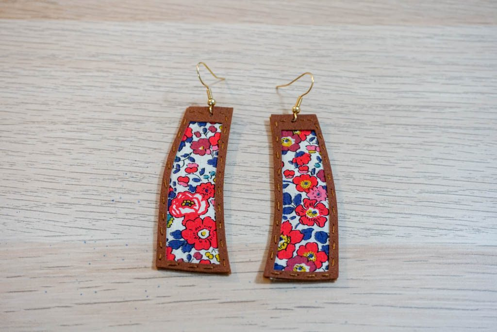 Learn How To Make Earrings With Our Easy To Follow DIY Earring Tutorial. A Fun Way To Make A Great Pair Of Peekaboo Earrings!