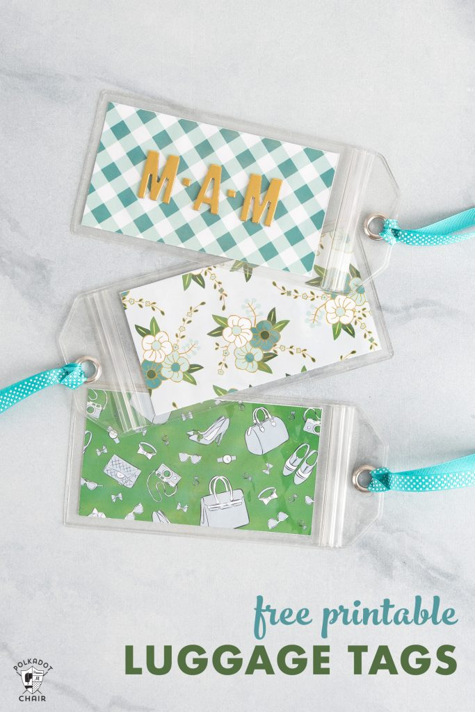 Looking For A Fun And Unique Luggage Tag? Check Out How To Make Your Own DIY Luggage Tags.