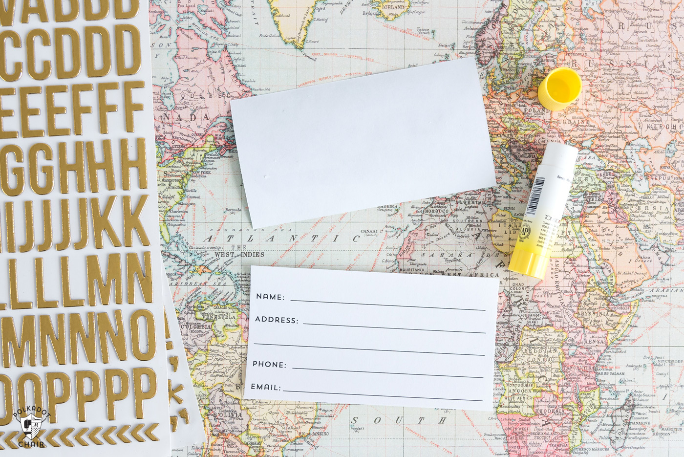 photo about Printable Cardstock Tags known as Do it yourself Baggage Tags - The Principle Place