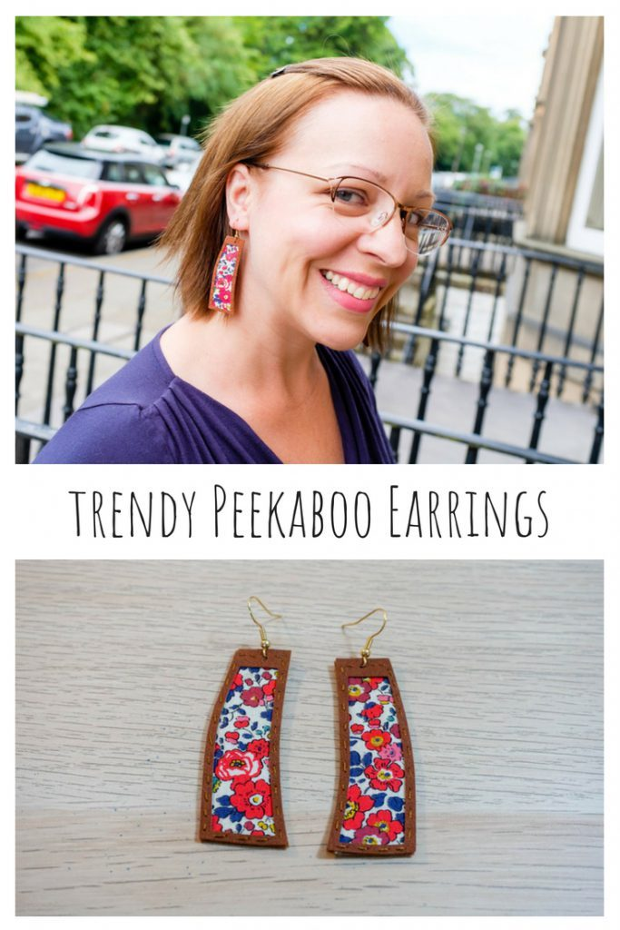 How to Make Trendy Peekaboo Earrings