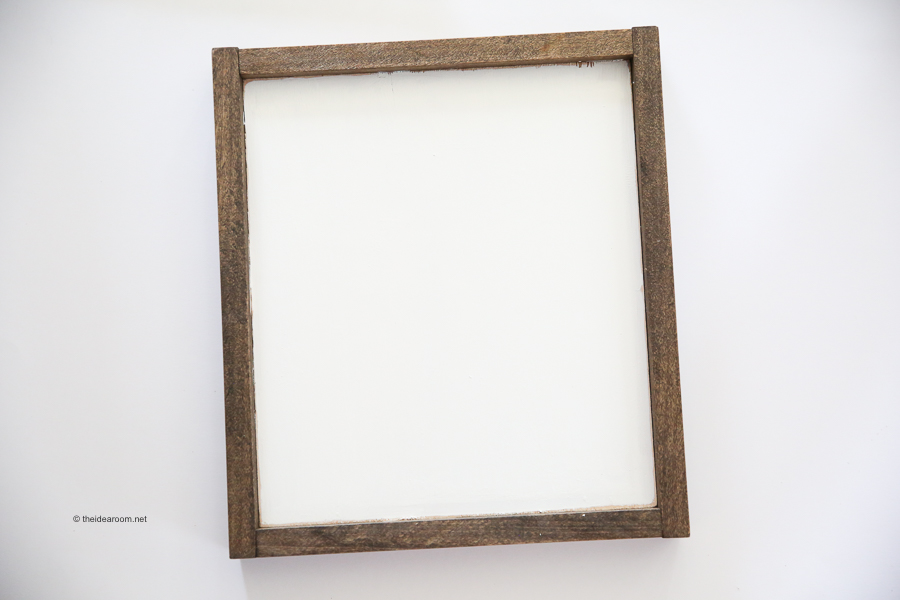 farmhouse wood frame