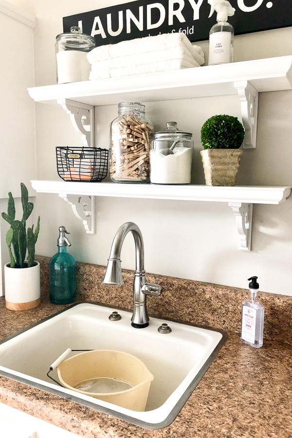 Laundry Room Sink and Pre Soak Ideas
