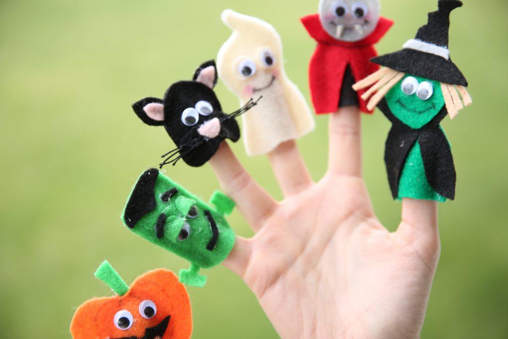 finger puppets, make finger puppets