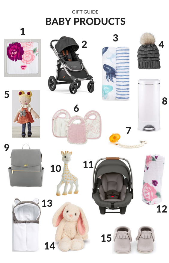 Baby Product Gift Guide - The Idea Room