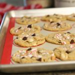Peppermint Chocolate Chip Cookies The Idea Room
