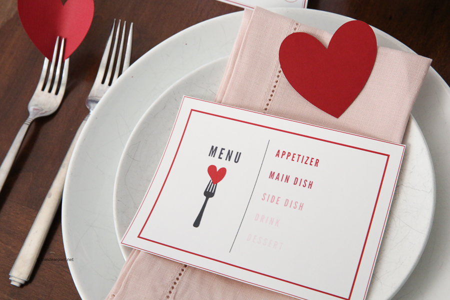 Valentines Day Table Decorations The Idea Room