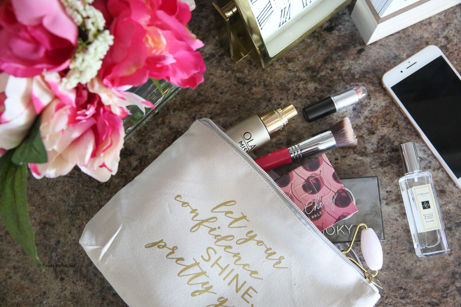 Personalized Makeup Bag With Cricut The Idea Room