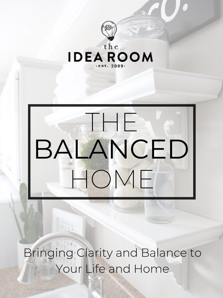 Home Organization Course The Idea Room