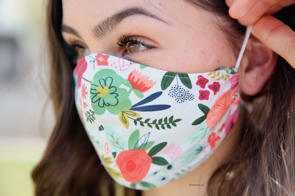 How To Make A Face Mask With Cricut Video Tutorial The Idea Room